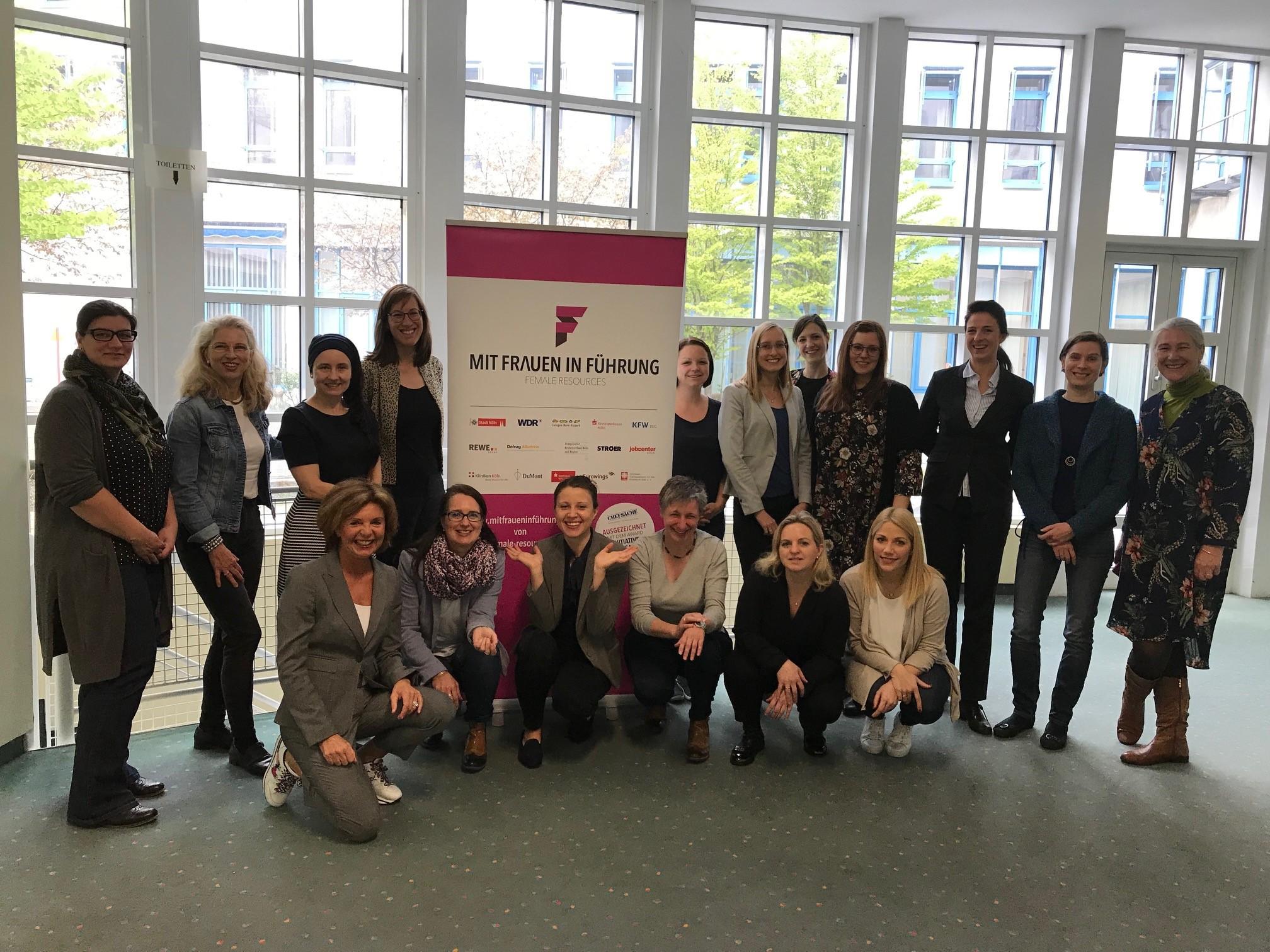 Teilnehmerinnen des 3. Cross Mentoring von MIT FRAUEN IN FÜHRUNG